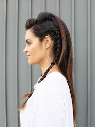 Fohawk Hairstyles 25 Trendy Faux Hawk Hairstyles For Women 2017 Pretty Designs