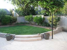 Cheap Curb Appeal - simple patio ideas for small backyards backyard designs trends