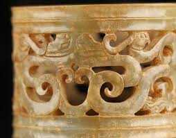 igavel auctions warring states style carved nephrite jade