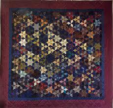 la chambre des couleurs chant d étoiles quilt en soie recyclage de cravates chambre