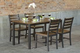 parsons dining room table loft indoor modern dining set u2013 500 u2013 elan furniture