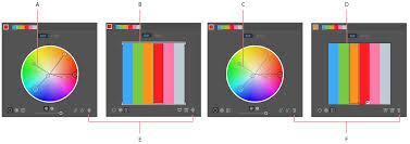 color groups harmonies illustrator