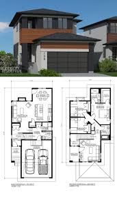 narrow lot duplex plan 2012658 front duplexandapartmentplans