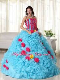 unique quinceanera dresses luxurious made flowers quinceanera dress with ruffles
