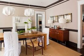 Modern Mirrors For Dining Room Mirror Above Buffet Table Dining Room Contemporary With Wishbone