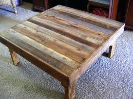 furniture round coffee table cheap reclaimed wood coffee table
