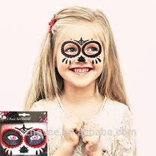 ds0218a best selling kids decoration sticker full face temporary
