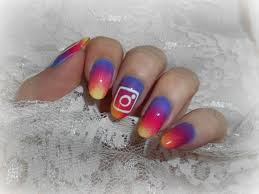 nail art nouveau logo instagram youtube