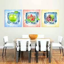 toile de cuisine peinture sur toile pour cuisine tableau dacco pommes peindre une