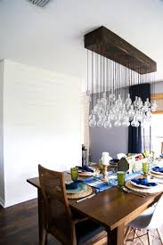 photos of dining rooms diy multi bulb dining room chandelier love u0026 renovations