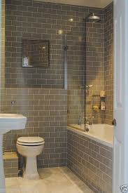 Wall Tiles Bathroom New York Gloss Warm Grey Flat Metro Victorian Brick Kitchen Wall
