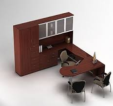 Office Desk Configurations Global Desks Zira P Top Executive U Station Nationwide Office