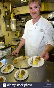 chef marcel kauer demonstrates how to cook dungeness crab in the