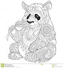tiger chinese zodiac sign zentangle stylized vector illustrati