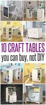 Diy Craft Room Ideas - craft tables you can buy instead of diy room ideas craft and room