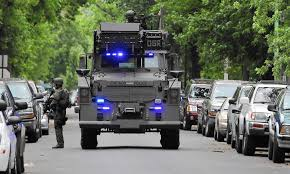 local law enforcement agencies could lose access to some military