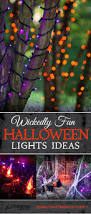 Fun Halloween Decoration Ideas Halloween Lights Purple Halloween Decoration And Purple