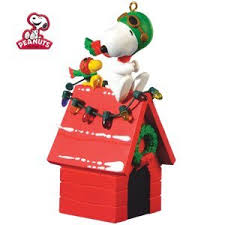 a pair of aces snoopy 2010 hallmark ornament home