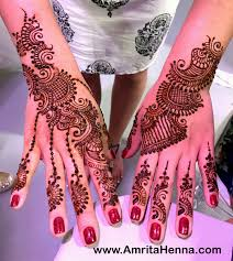 Baby Shower Mehendi Designs