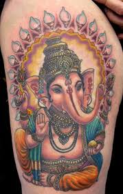 ganesha tattoo on shoulder ganesha tattoo on shoulder