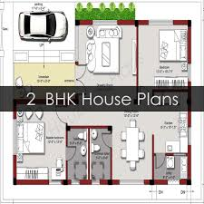 2bhk house plans 2 bedroom house plans houzone