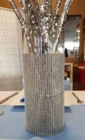 Bling Wrap For Vases Table Decor Vases