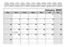 printable calendar 2016 time and date 2016 yearly julian calendar 01p free printable templates