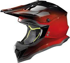 flat black motocross helmet nolan n53 fade motocross helmet motorcycle helmets u0026 accessories