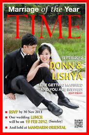 magazine wedding programs magazine wedding invitation amulette jewelry