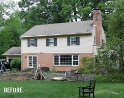 house makeover colonial house exterior makeover remarkable updating a traditional