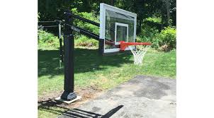 Backyard Basketball Hoops by Pro Dunk Adjustable Hoops In Ground Basketball Goals Installation