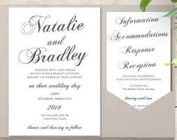 Wedding Invitations With Pockets Pocket Invitations