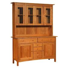Buffet With Hutch Furniture Large Modern Shaker Large Buffet Hutch Sideboard Made In The