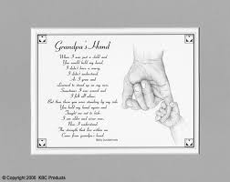 grandfather s best grandfather poem grandpa s hand the same poem as daddy s hand