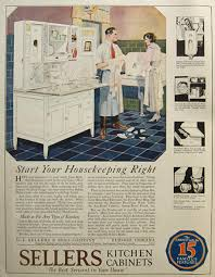 sellers kitchen cabinet 1921 sellers kitchen cabinets ad vintage household ads