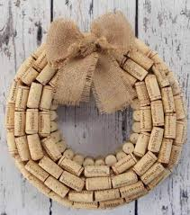 easy diy project wine cork wreath find wreath instructions from