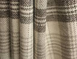 Wool Drapes Tartan Interiors How To Choose The Perfect Curtain Material