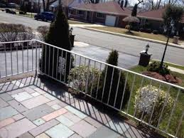 Wrought Iron Banister Rails Wrought Iron Railing Home U0026 Garden Ebay