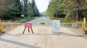 Wild Fire Danger by Casino Gun Range Closed Due To Wildfire Danger Trail Daily Times