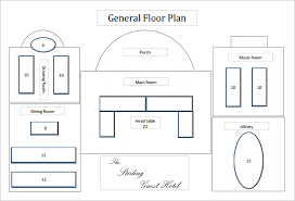floor plan template lobby level floor plan free pdf format