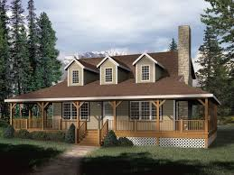 small house plans with wrap around porches park rustic home plan 058d 0032 house plans and more