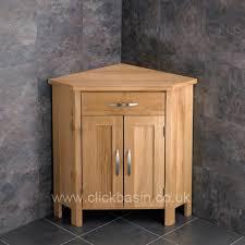 Tall Corner Bathroom Cabinet Ohio Solid Oak Corner Bathroom Cabinet Oak Corner Bathroom
