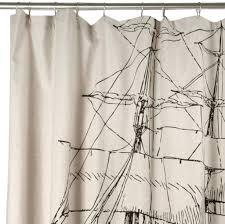 Nautical Shower Curtains Entertainment Center Nautical Shower Curtain Hooks 3 Nautical