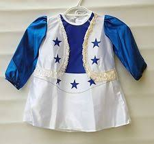 Dallas Cowboys Cheerleader Halloween Costume Toddler Cheerleader Costume Ebay