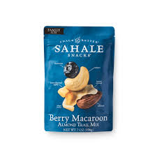 berry macaroon almond trail mix sahale snacks