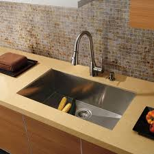 Deep Stainless Sink Kitchen Single Bowl Undermount Stainless Steel Sink Vigo