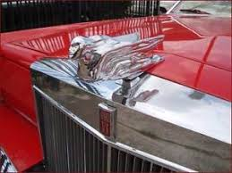 1941 cadillac style chrome replica reproduction flying