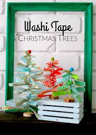 washi tape christmas trees washi tape washi and christmas tree