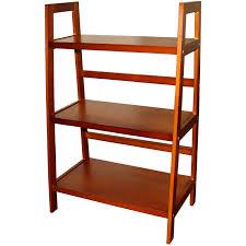 Altra Ladder Bookcase by 3 Tier Ladder Shelf Multiple Colors Walmart Com