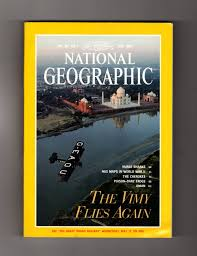 national geographic magazine may 1995 vickers vimy nurse